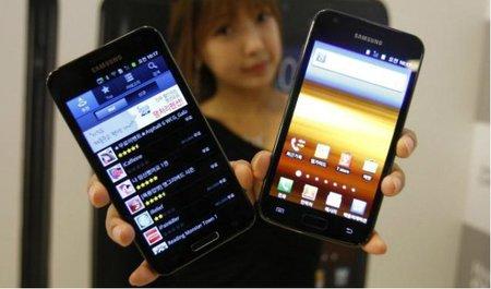 Samsung ha vendido 7 millones de Galaxy Note y 28 millones de Galaxy SII