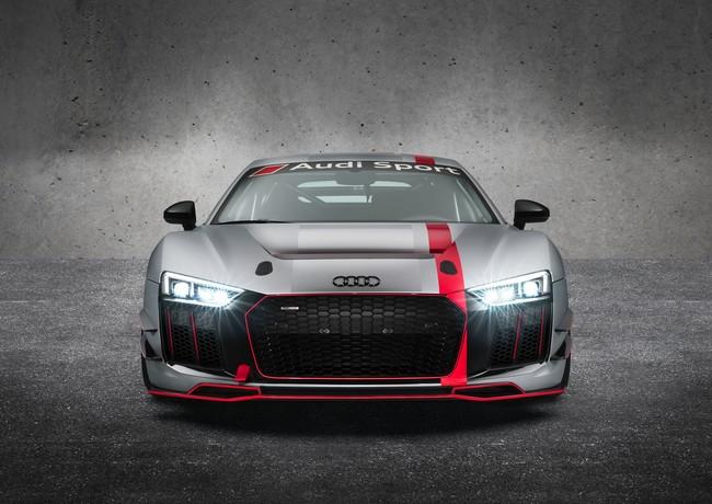 El nuevo Audi R8 LMS GT4 está enfadado, así lucen los 495 CV del nuevo pura sangre alemán