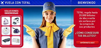 Promociones engañosas: compra una sartén y te regalan un billete de avión
