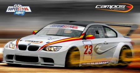 Campos Racing estará en las Superstars Series con dos BMW M3
