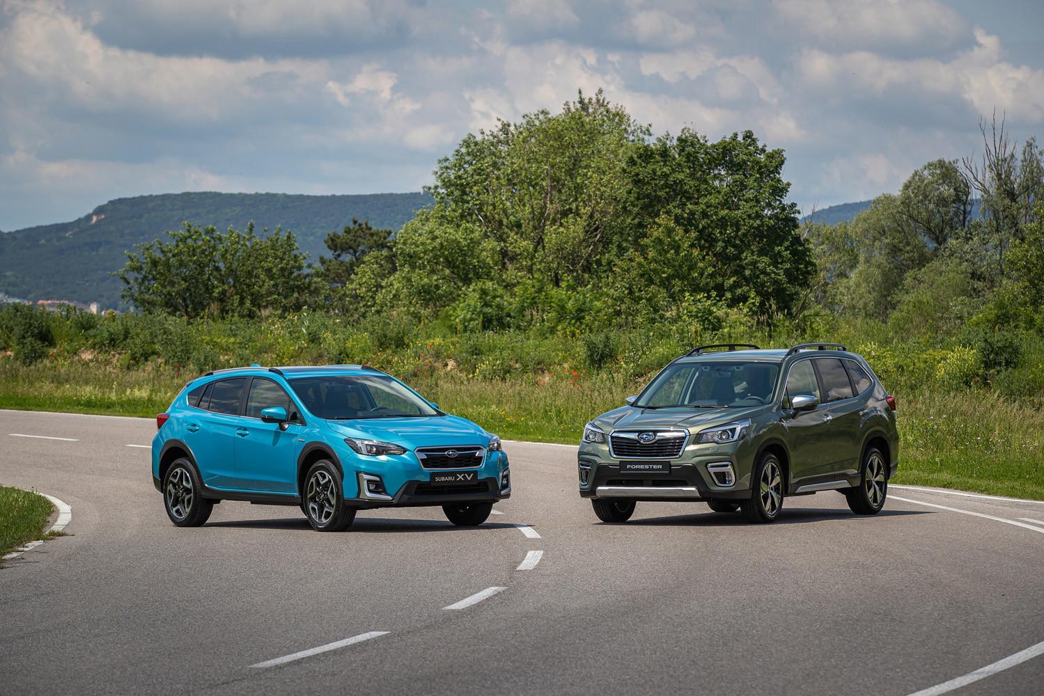 Foto de Subaru Forester y XV Eco Hybrid (1/18)