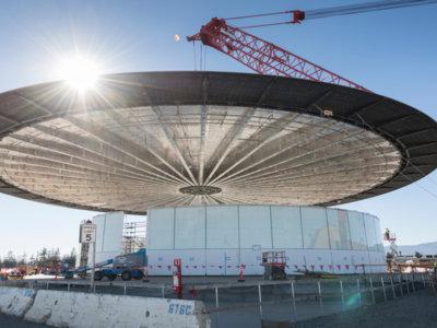 Un nuevo vídeo a vista de drone nos da una idea de la inmensidad del Campus 2