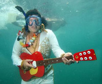 Concierto de verano bajo el agua en los cayos de Florida