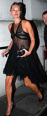"Kate Moss en la inauguración de ""Face of fashion"""