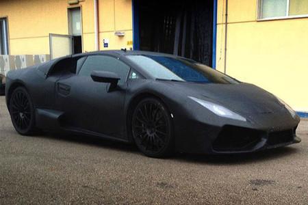 Captan al Lamborghini Cabrera en el Nürburgring