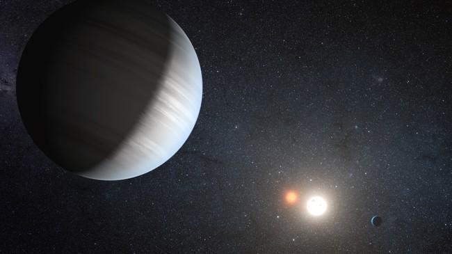 Ilustracion De Un Exoplaneta