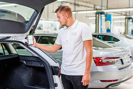 Skoda app diagnostico averías coche