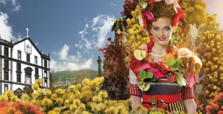 Festa da flor, la fiesta más colorista de Madeira