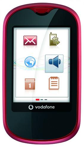 Vodafone 541 Touch, móvil táctil asequible