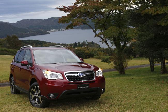 Subaru Forester 2013 (versión para Japón)