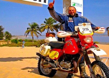 El Dakar 2011 en una Bultaco de 1978