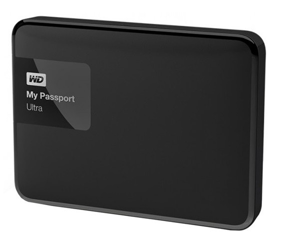 Disco duro portátil Western Digital My Passport Ultra 1 TB, USB 3.0 negro