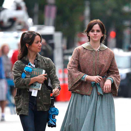 """Así es la primera imagen de Emma Watson en """"Mujercitas"""", uno de los grandes estrenos de 2019"""