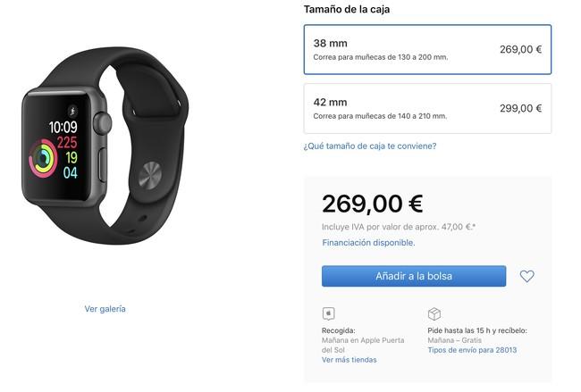 stock en España