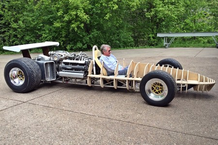 Don Groff es tu nuevo ídolo: Está haciendo un F1 de los '60 con motor V12 de 800 CV a partir de dos Toyota 1JZ