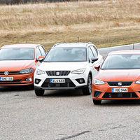 Volkswagen y SEAT recomiendan no usar la quinta plaza en los Ibiza, Arona y Polo por un fallo en el cinturón de seguridad