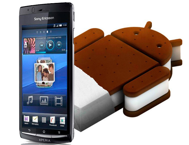 Sony Xperia Arc Ice Cream Sandwich