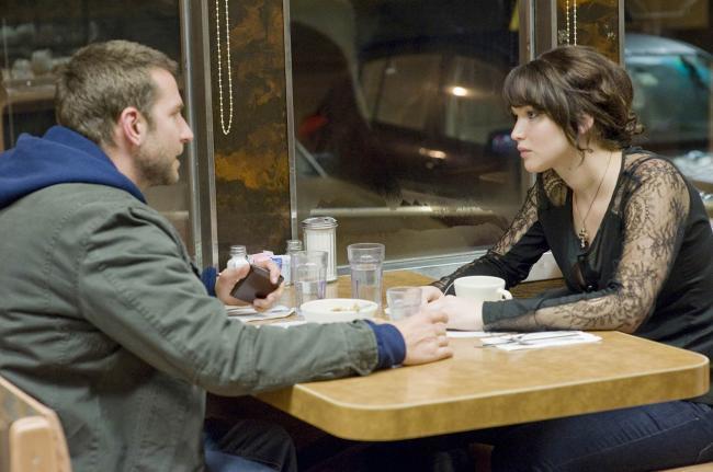 Jennifer Lawrence y Bradley Cooper en 'El lado bueno de las cosas'