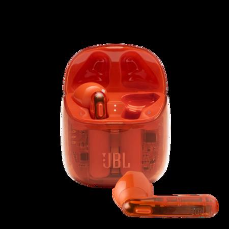 Jbl Tune 225tws Ghost Product Image Hero Orange