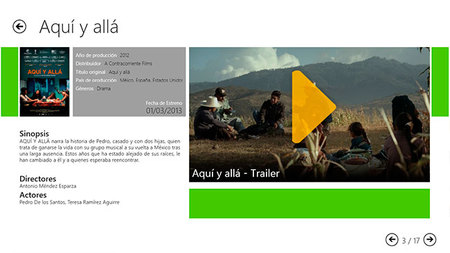 CineTrailer.Tv, ficha de la película