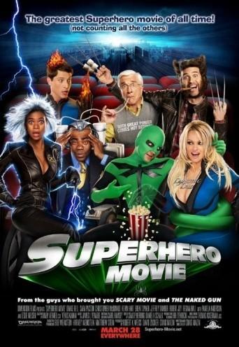 Póster de 'Superhero Movie'