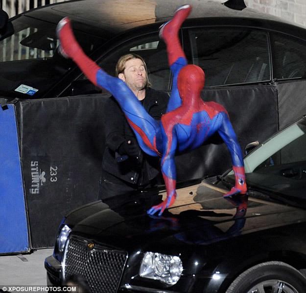 Foto de 'Spider-Man' de Marc Webb, nuevas fotos del rodaje (6/17)
