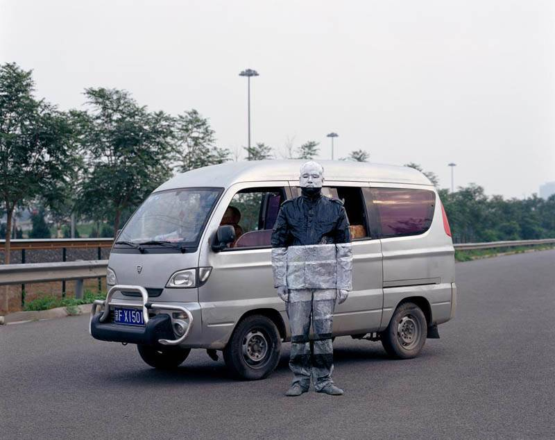 Foto de Hiding in the City: el hombre invisible. Liu Bolin (20/50)