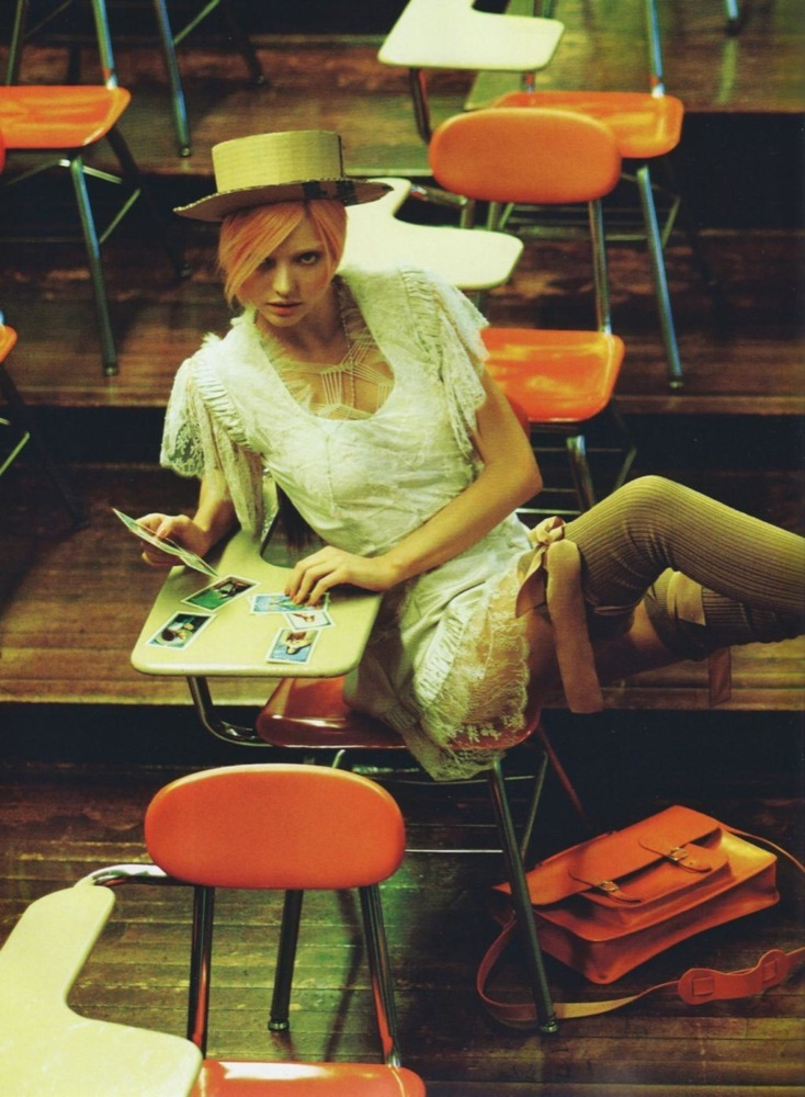 Foto de Miranda Kerr muy provocativa en el editorial de Numèro (13/15)