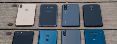 , comparativa frente a Huawei P30 Pro, Pixel 3 XL, Samsung Galaxy Note 10 y