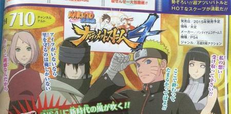 Se unirán algunos personajes de The Last: Naruto the Movie a Naruto Shippuden: Ultimate Ninja Storm 4