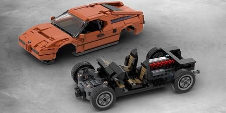 BMW M1 Lego
