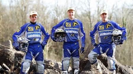 El equipo oficial Husaberg preparado para la temporada 2013 de Enduro Extremo