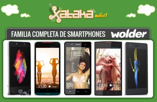 Así queda el catálogo de smartphones Wolder tras la llegada de los nuevos WIAM