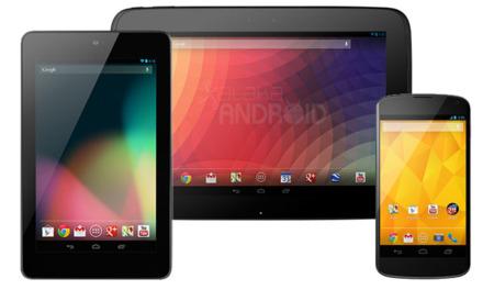 Nexus 4, 7 y 10