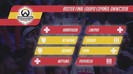 La selección española de Overwatch anuncia sus jugadores para la Copa del Mundo