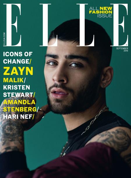 Zayn Malik Cover Elle Magazine