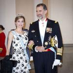 La reina Letizia (muy española) eclipsa en terreno danés con un