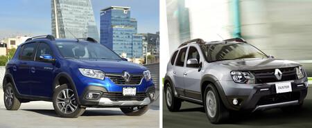 Renault Duster Zen vs. Renault Stepway Intens: un duelo del Stepway más equipado contra el Duster más accesible