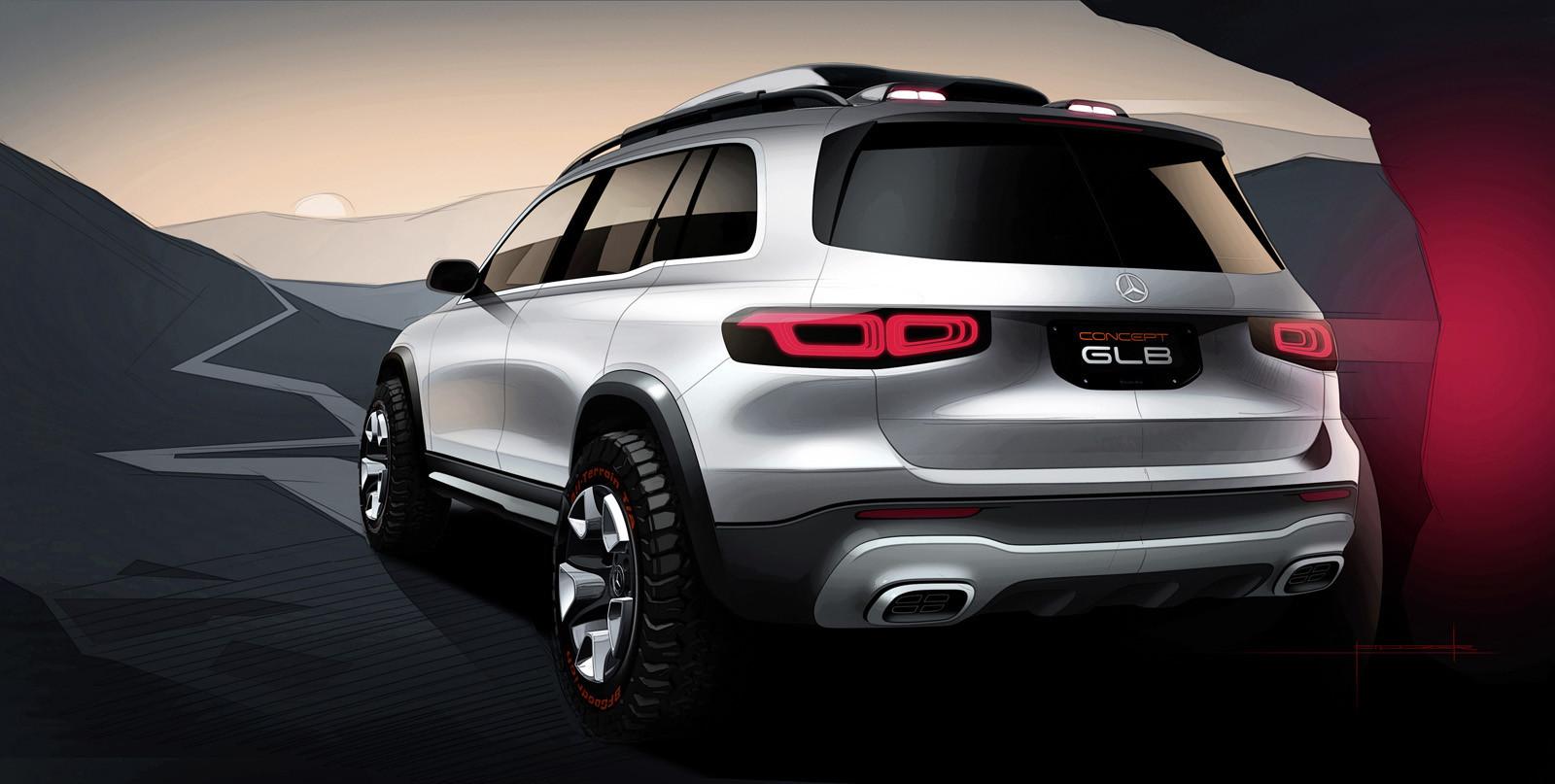 Foto de Mercedes-Benz GLB Concept (25/26)