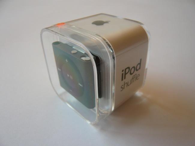 iPod shuffle 2012 caja
