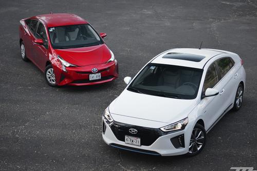 Comparativa: Hyundai Ioniq vs. Toyota Prius