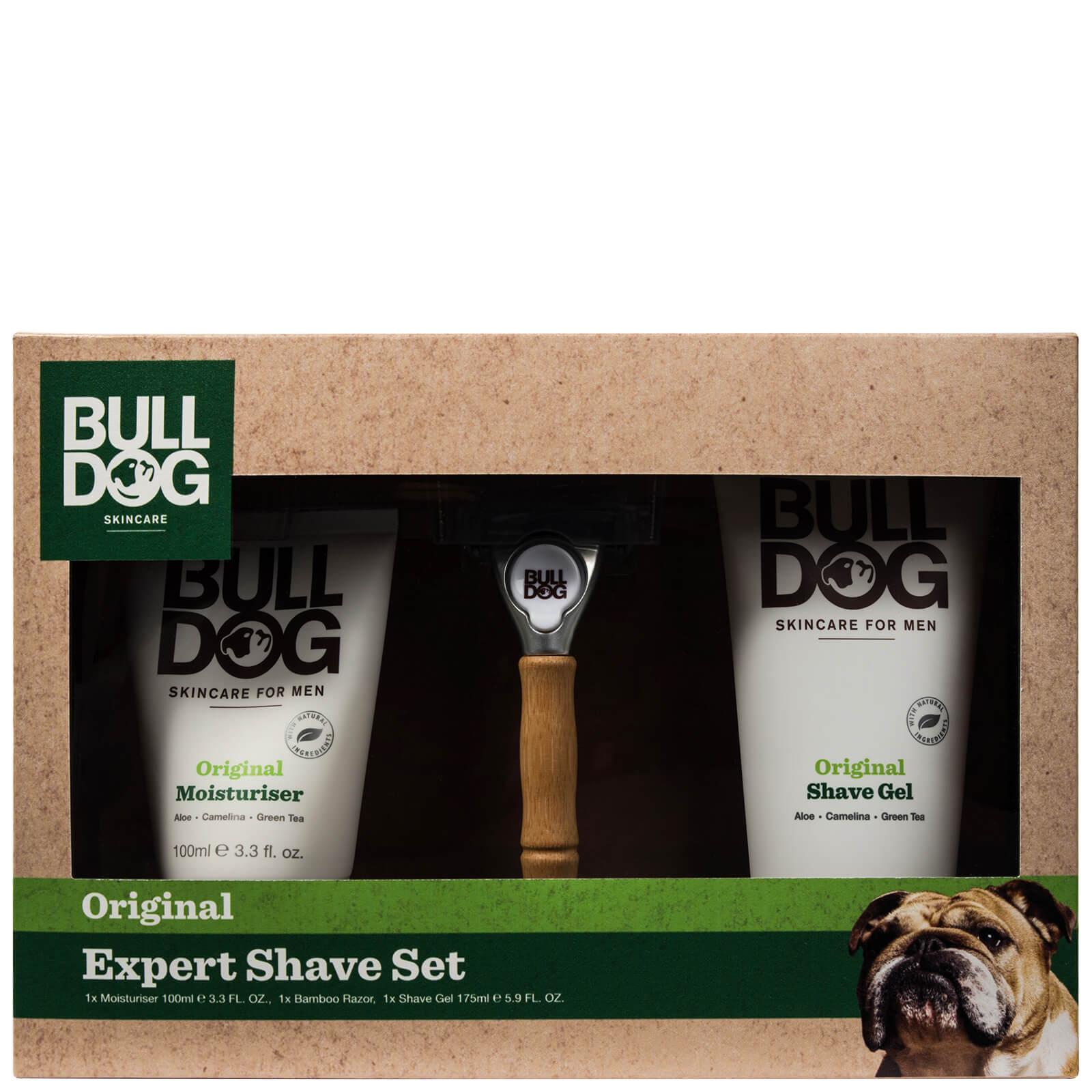 Set de afeitado profesional de Bulldog Skincare