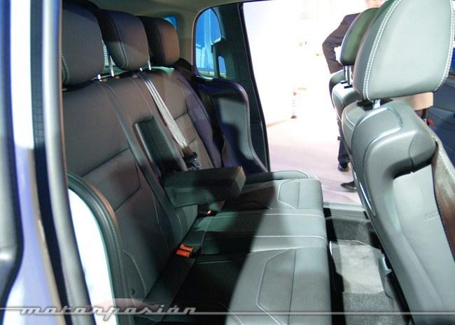 Ford B-Max presentación MWC 2012 asientos traseros