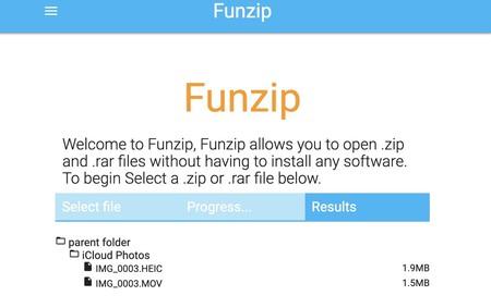 Funzip