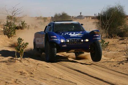 El Africa Race llegó al Lago Rosa de Dakar