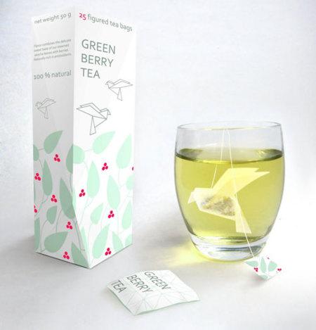 Bolsitas de té animadas