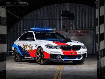 El BMW M5 se viste de guerra para ser el Safety Car de MotoGP en 2018