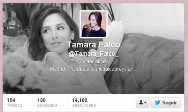 Sólo han hecho falta 19 días para que Tamara Falcó meta la pata en twitter