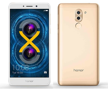 Huawei Honor 6x Gold, con 32GB de capacidad, por 172,33 euros en AliExpress