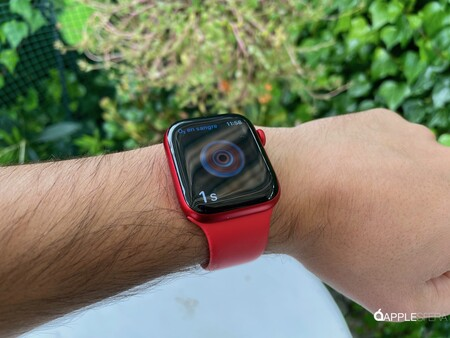 Apple Watch Series seis Rojo 003